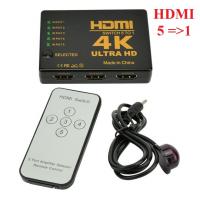 Bộ gộp HDMI 5 vào 1 ra hỗ trợ 4K