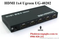Bộ chia HDMI 1 ra 4 full HD Chính hãng Ugreen 40202