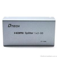 Bộ chia HDMI 1 ra 2 chính hãng Dtech DT-7006