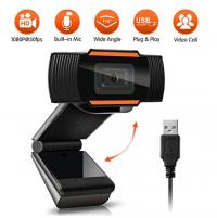 Webcam kẹp màn hình full HD 1080P có Mic