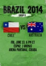 World Cup 2014 – Bảng B – Chile vs Australia ()