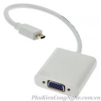 Cáp Micro HDMI to VGA