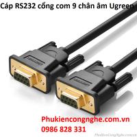 Cáp RS232 cổng com 9 chân âm 3m chính hãng Ugreen UG-20151